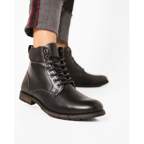 85c3ba30275 Buy Bond Street by Red Tape High-Top Lace-Up Boots online ...