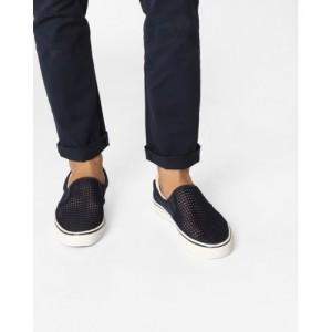 UNITED COLORS OF BENETTON Mesh Vulcanised Slip-On Shoes