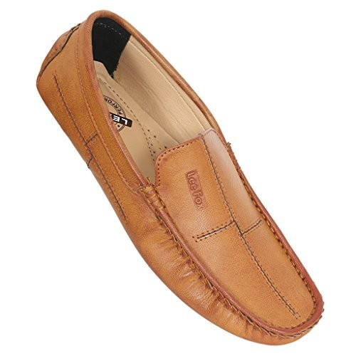 Buy H2H FASHIONS TAN LOAFERS Lee Fox