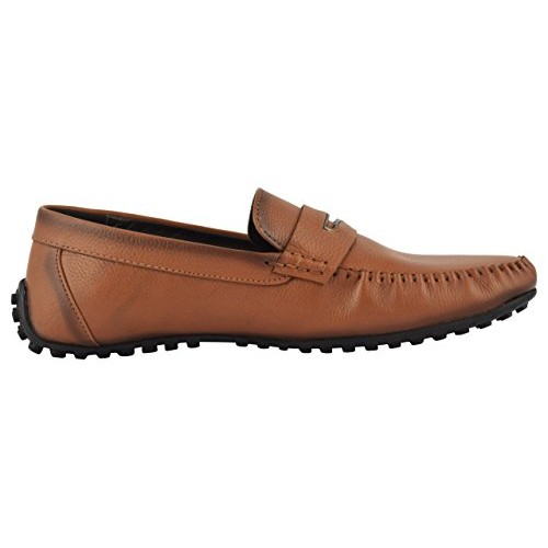 Chamois Tan Leather Men Loafers