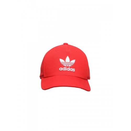 c384d993405996 Buy Adidas Originals Unisex Red AC TRE Flat Solid Cap online ...