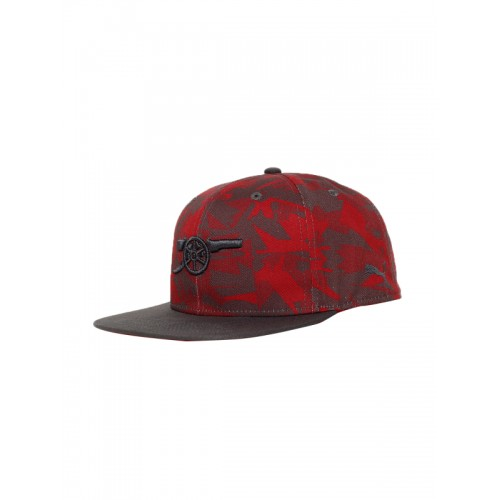 5effe329 Buy Puma Unisex Red Printed Arsenal Camo Snapback Cap online ...