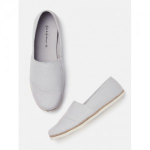 Mast & Harbour Men Grey Slip-On Casual Shoes