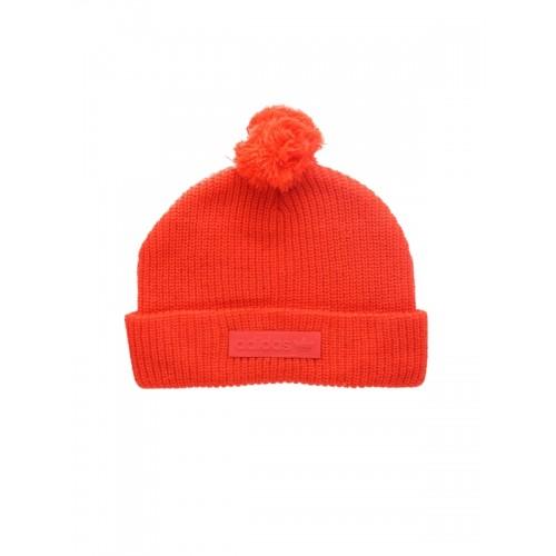 5617fa863bf Buy Adidas Originals Unisex Red Pom-Pom Ribbed Beanie online ...