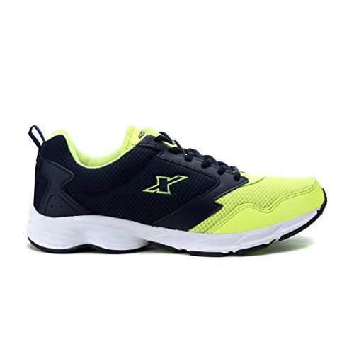 Sparx Men's Green Blue Mesh Sports Running Shoes