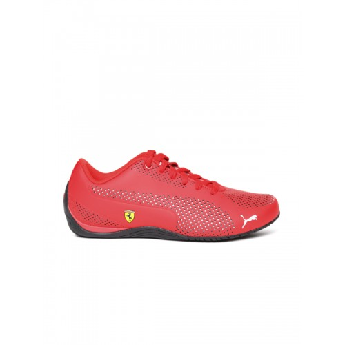 Puma Unisex Red Sneakers