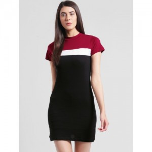 Rigo Black Cotton Bodycon Dress