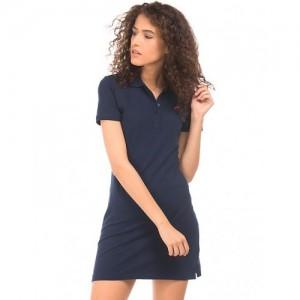 Aeropostale Regular Fit Pique Polo Dress