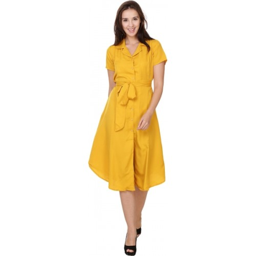 d796ab4d63b Crease   Clips Women s Shirt Yellow Dress  Crease   Clips Women s Shirt  Yellow ...